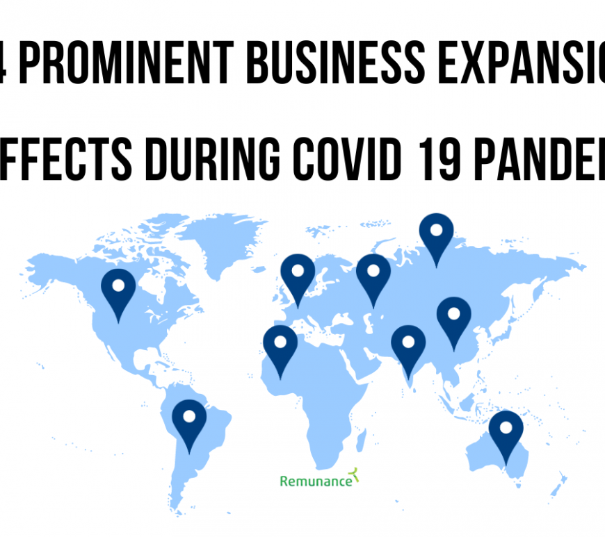 Global Business Expansion During the Covid-19 Pandemic