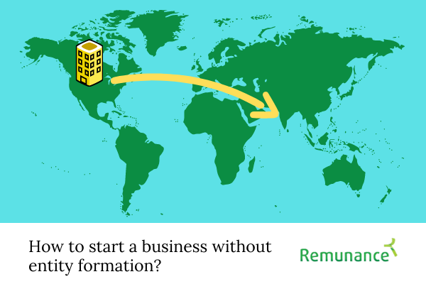 How to start a business without forming an entity?